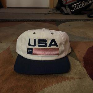 Vintage Nike USA SnapBack